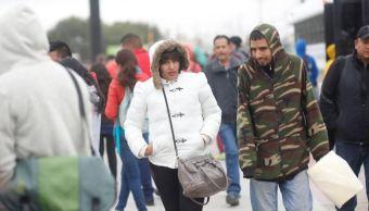 Frente frío 7 ocasionará baja de temperaturas en México