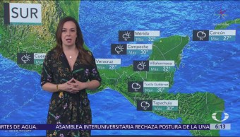 Frente frío causará marcado descenso de la temperatura en gran parte de México