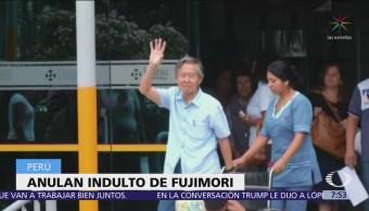 Fujimori se queda sin indulto y podría ser detenido