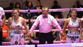 Función de box apoya a mujeres con cáncer de mama
