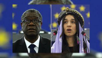Ganadores del Nobel de la Paz dedican premio a víctimas