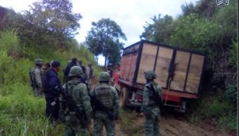 eguridad Oaxaca; aseguran 16 mil litros de gasolina robada