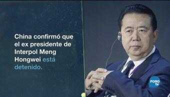 Gobierno Chino Investiga Presidente Interpol Meng Hongwei