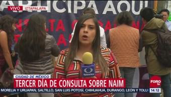 Gran Participación Consulta Aeropuerto Iztapalapa Ciudad de México