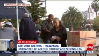 Habitantes De Atenco Participan Consulta De Aeropuerto Estado de México
