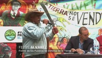 Habitantes Atenco Texcoco Acolman Exigen Detenga NAIM