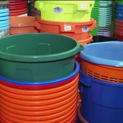 Por megacorte de agua, recipientes escasean y aumentan de precio