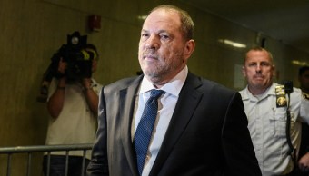 Desestiman cargo de agresión sexual contra Harvey Weinstein