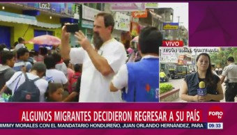 Hondureños Piden Ayuda Guatemala Regresar País