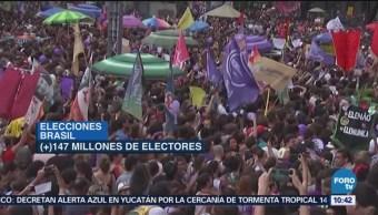 Hoy Se Llevan Cabo Elecciones Brasil