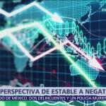 HR Ratings cambia a negativa la perspectiva de deuda soberana de México