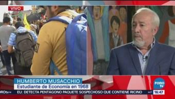 Humberto Musacchio analiza los hechos de 1968