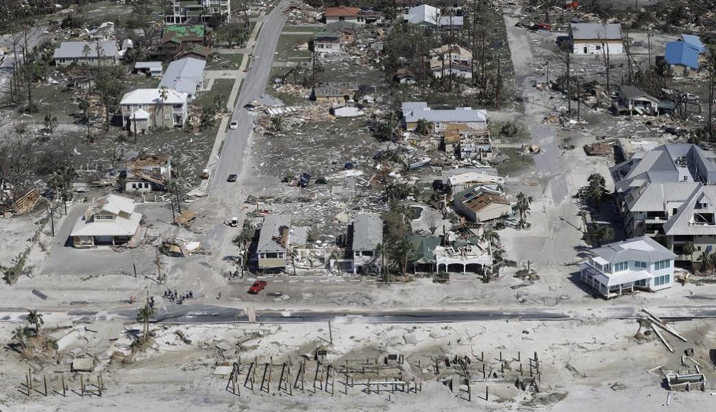 Sube cifra de muertos en EU por paso del huracán 'Michael'