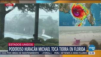 Huracán Michael toca tierra en Florida, Estados Unidos