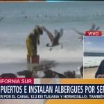 Huracán Sergio podría impactar el viernes en BCS