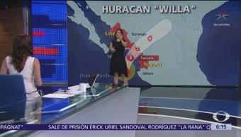 Huracán 'Willa' se dirige hacia las costas de Sinaloa