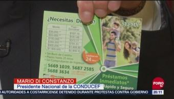 Identifican Fraude Créditos Milagro Condusef Créditos CDMX