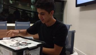 Joven Mexicano competirá en Olimpiada de Robótica