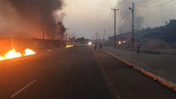 Explosión de gasoducto en Nigeria causa más de 15 muertos