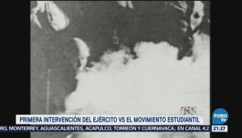 Intervención Ejército Contra Estudiantes Matanza Tlatelolco1968