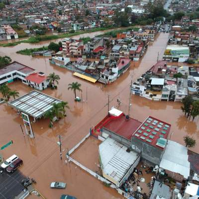 Activan Plan DN-III por lluvia e inundación en Morelia, Michoacán