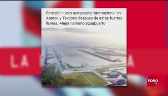 Inundaciones Naim Paparrucha Día Noticia Falsa