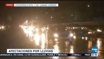 Inundaciones Lluvias Zona Metropolitana Encharcamientos Tráfico