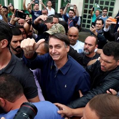 Brasil, a un paso de la extrema derecha con Jair Bolsonaro