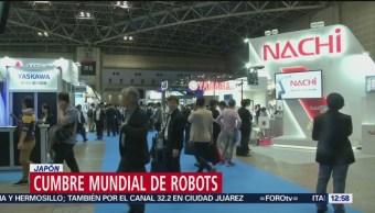 Japón realiza cumbre mundial de robots