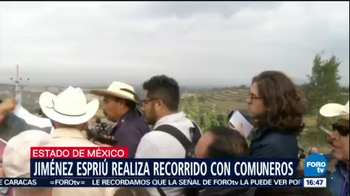 Jiménez Espriú promete escuchar todas las voces en torno del NAIM