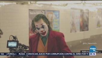Joker aparece en el metro de Nueva York