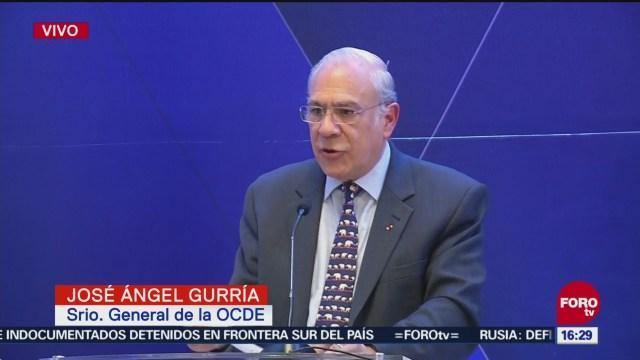 José Ángel Gurría habla del NAIM
