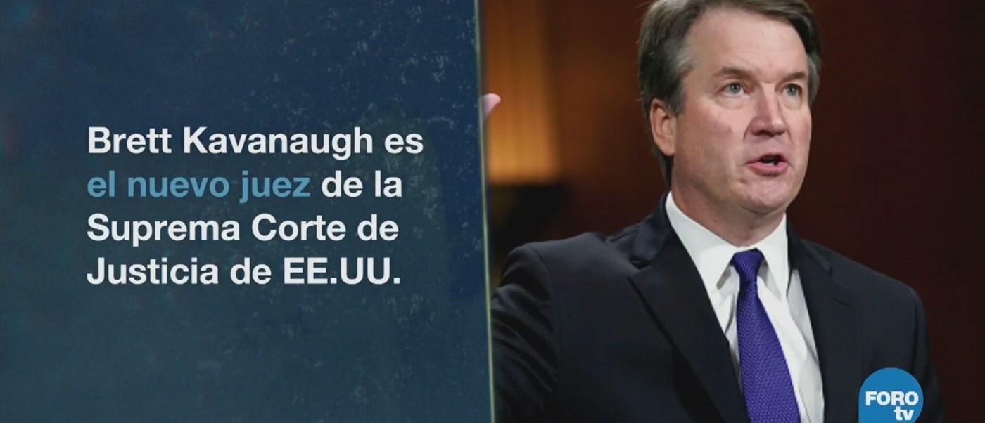 Kavanaugh Llega Corte Suprema Estados Unidos