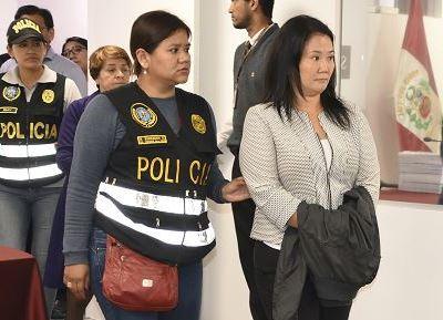 Corte Suprema de Perú rechaza recurso presentado por Keiko Fujimori
