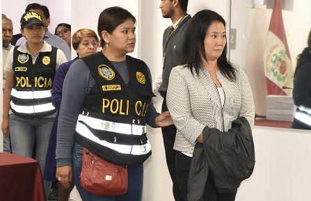 Corte Suprema de Perú rechaza recurso presentado por Keiko