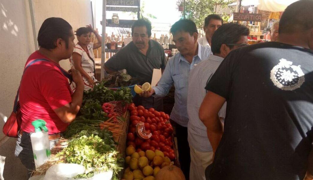 La Cosecha, el mercado orgánico de Oaxaca