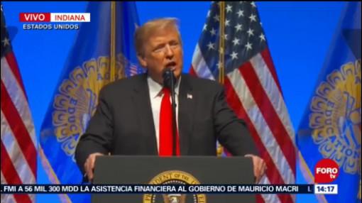 Trump Tiroteo En Sinagoga Pittsburgh Un Acto Inimaginable El Presidente De Estados Unidos, Donald Trump