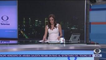 Las noticias, con Danielle Dithurbide: Programa del 23 de octubre del 2018