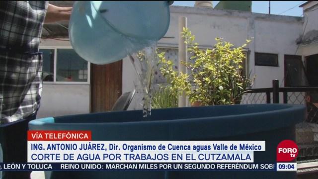 trabajos realizarán Sistema Cutzamala Antonio Juárez, director del organismo de Cuenca Aguas Valle de México