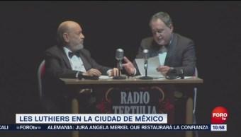 Les Luthiers presenta 'Viejos Hazmerreíres' en México