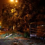 leslie deja heridos leves y cortes luz en portugal