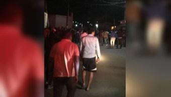 Linchan a tres hombres luego de atropellar procesión en Chalco