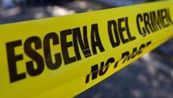 Imagen: Autoridades acordonan la escena del crimen, el 15 de junio de 2019 (Notimex, archivo)