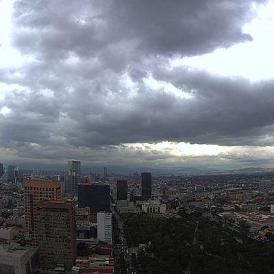 Persisten nublados, chubascos y tormentas en el Valle de México