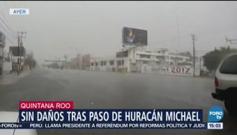Lluvias por 'Michae'l no afectaron las actividades turísticas en Cancún