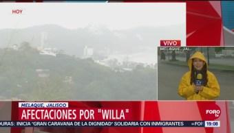 Lluvias Torrenciales Melaque Jalisco Huracán Willa