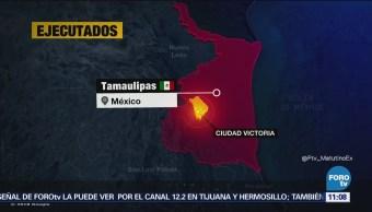 Localizan 6 cuerpos de presuntos secuestrados en Tamaulipas