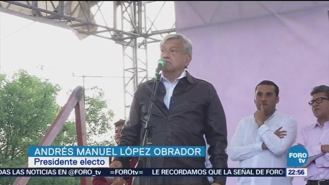 López Obrador Asegura Busca Justificarse Durante Una Asamblea Informativa Aguascalientes