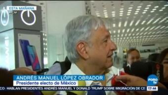 López Obrador conversó con Trump sobre el USMCA