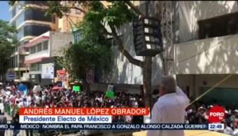 López Obrador Pide Respeto Migrantes Chiapas Andrés Manuel López Obrador Tuxtla Gutiérrez, Chiapas